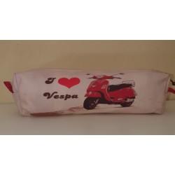 Pencil case I love vespa