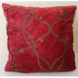 Cushion Velours rouge