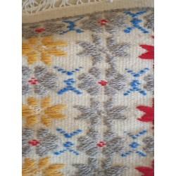 Wool rug Flowers