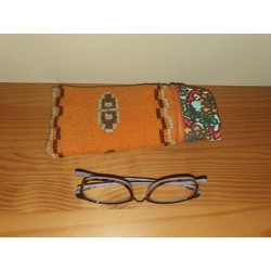 Glasses case Orange