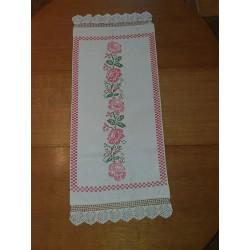 Table runner Roses