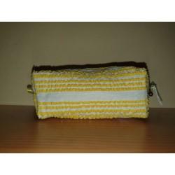Yellow woven case